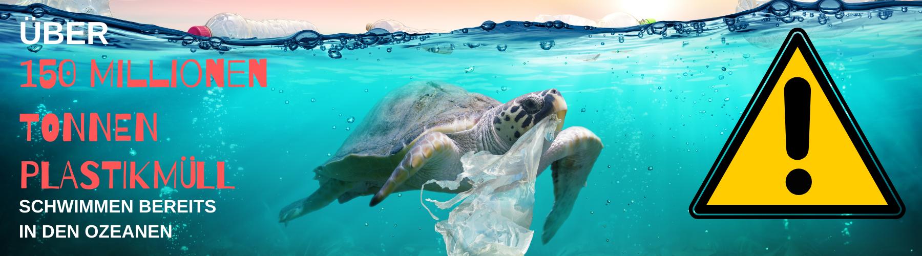 150 Millionen Tonnen Plastik im Meer